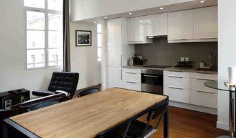 La pièce à vivre côté cuisine
