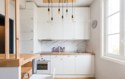 Houzz Tour: Cozy Pied-à-Terre for a Father and His 2 Teens