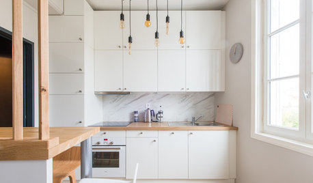France Houzz Tour: Cosy Pied-à-Terre for a Dad and his Teenagers