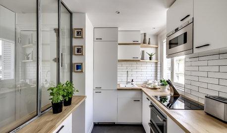 10 astuces de pro pour aménager une cuisine étroite