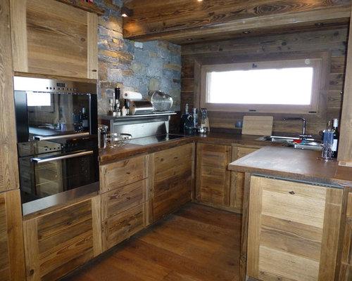 r novation compl te et extension chalet vieux bois. Black Bedroom Furniture Sets. Home Design Ideas