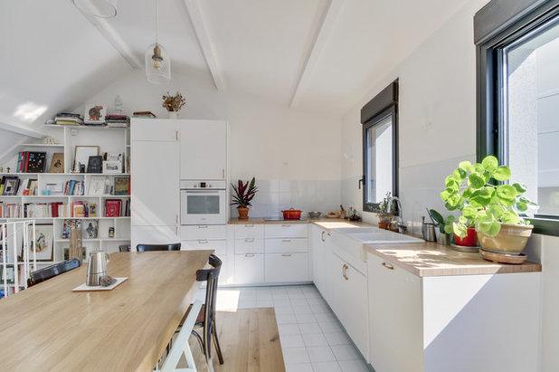 Contemporain Cuisine by Agence d'Architecture SCA