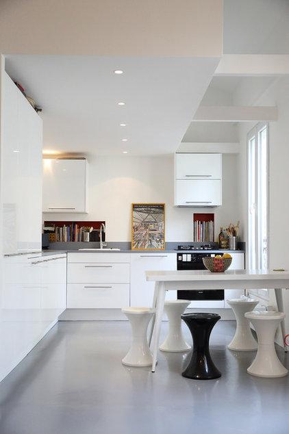 avantages et inconv nients d 39 une cuisine en l. Black Bedroom Furniture Sets. Home Design Ideas