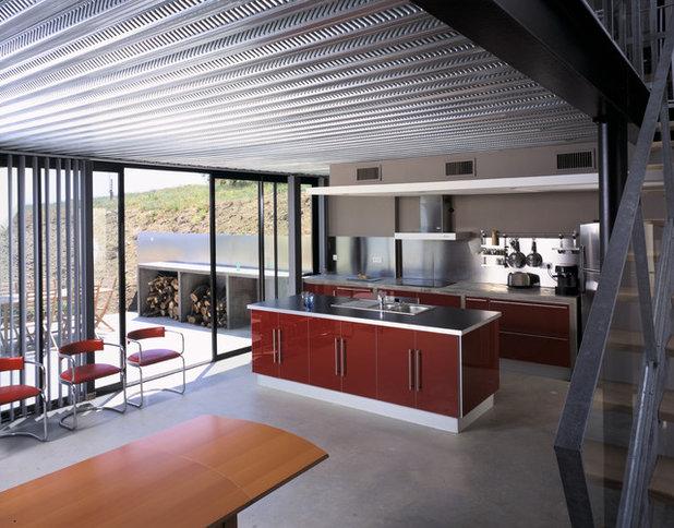 Industriel Cuisine by Architectures Stéphane DELIGNY