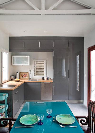 Современный Кухня by Olivier Chabaud Architecte - Paris & Lubron