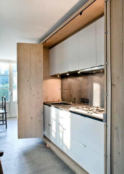 Eclectic Kitchen by Olivier Chabaud Architecte