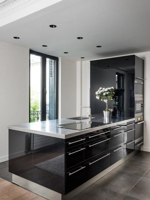 cuisine de taille moyenne photos et id es d co de cuisines On taille moyenne cuisine
