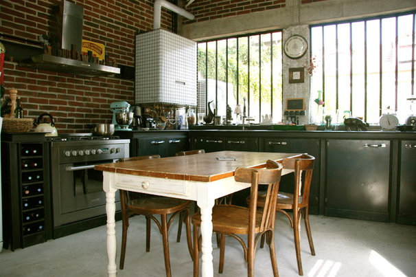 cuisine 10 id es d co pour cr er une ambiance bistrot. Black Bedroom Furniture Sets. Home Design Ideas