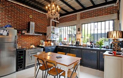 Esprit indus' : Sublimez votre cuisine grâce aux briques