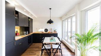 Métamorphose d'un bel appartement parisien