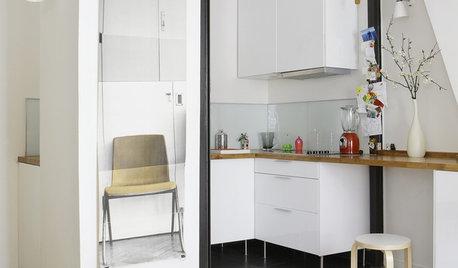 小さくて狭くても、スタイリッシュで機能的なキッチンをつくるには?