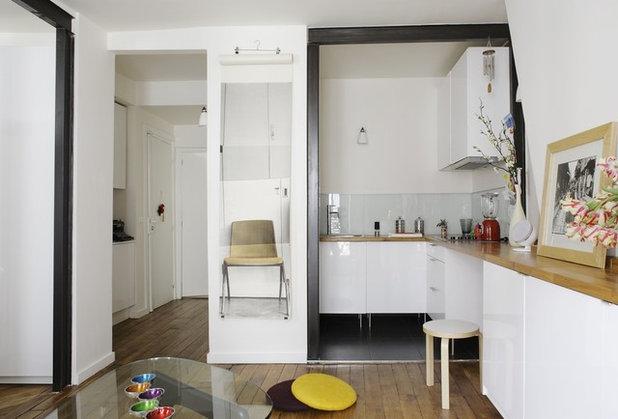 Contemporary Kitchen by S+D architectures intérieures