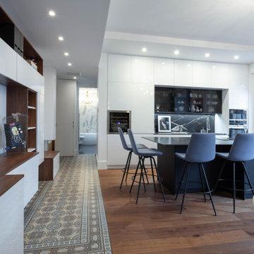 Nouvelle vie pour un appartement grenoblois