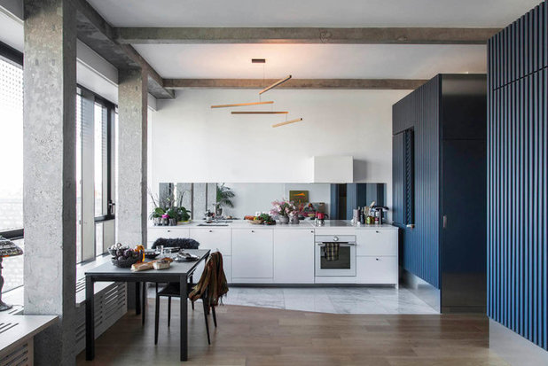 Contemporain Cuisine by Boclaud Architecture