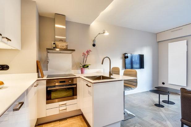 7 grandes ideas para integrar una cocina pequeña en casa