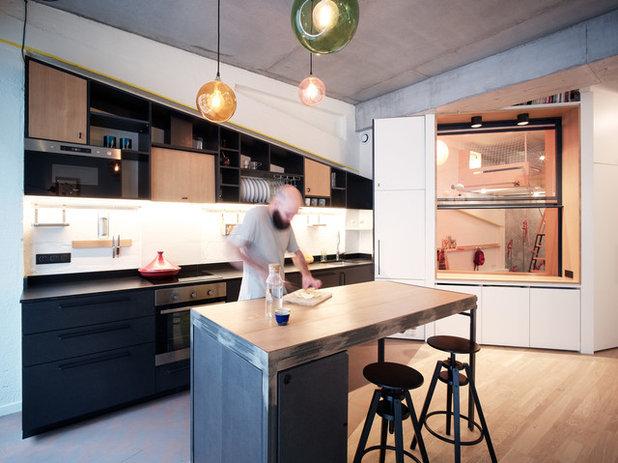 Contemporáneo Cocina by Atelier Pelpell