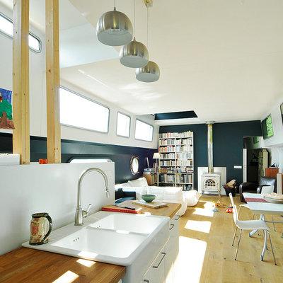 visite priv e voyage sur la seine en p niche habit e. Black Bedroom Furniture Sets. Home Design Ideas