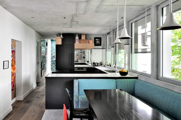 Industrial Kitchen by Olivier Gay Architecture & Design