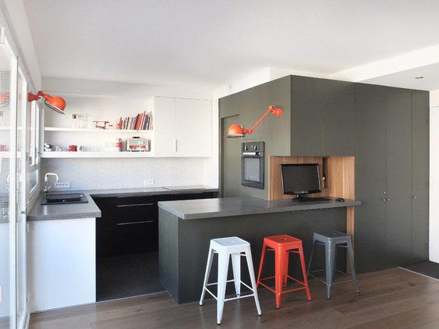 Современный Кухня by Janand Delahousse architectes