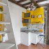 Houzz Tour: Color, Wood and Industrial Style Meet in Paris