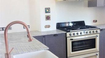 Plans de travail cuisine en Marbre Blanc de Carrare