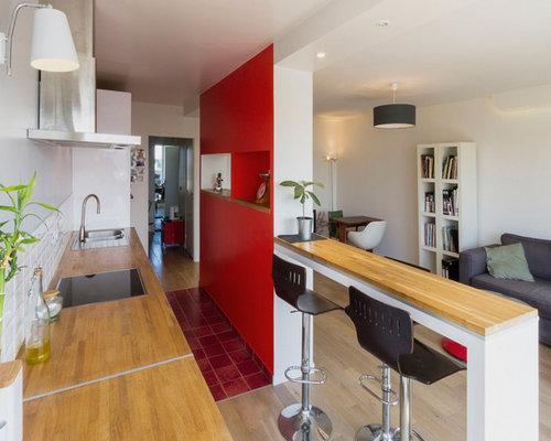 R novation d 39 un appartement avec cuisine ouverte for Appartement cuisine ouverte