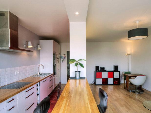 avantages et inconv nients des cuisines ouvertes. Black Bedroom Furniture Sets. Home Design Ideas