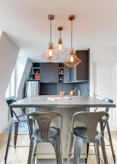 Industriel Cuisine by Transition Interior Design