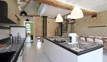 Projet de rénovation complète d'un séchoir à lin en Normandie.