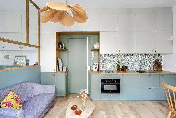 Scandinavian Kitchen by Transition Interior Design