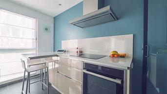 Projet O&VD / Aménagement-Rénovation d'un appartement en duplex