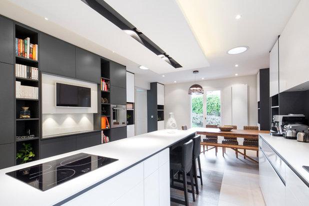 Visite priv e une maison contemporaine riche en nuances - Checklist visite maison ...