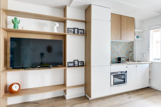 Скандинавский Кухня by Transition Interior Design