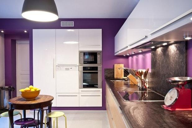 Ringard le violet - Couleur mur cuisine ...