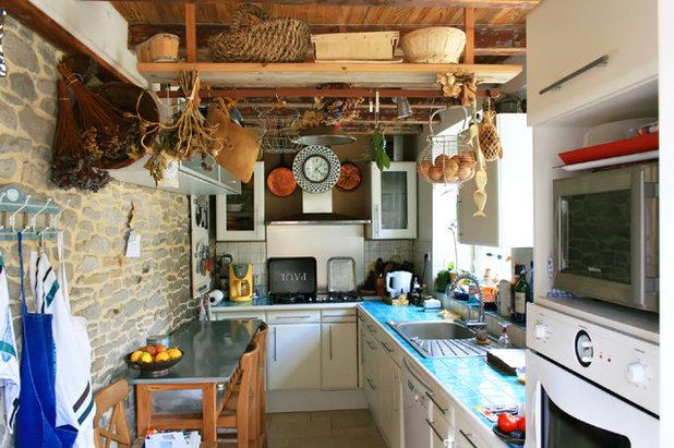 Eklektisch Küche By Regine Villedieu Immobilier