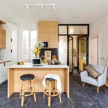 Réagencement complet d'un appartement haussmannien
