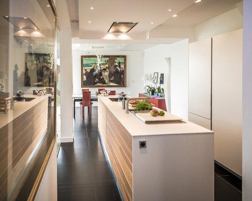 Cuisine contemporaine photos et id es d co de cuisines for Cuisine ouverte lineaire