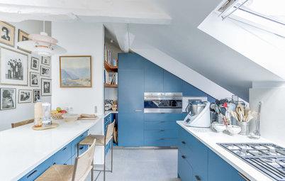 Photothèque : 40 cuisines déclinent le bleu à volonté
