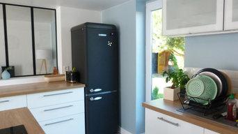 Réaménagement d'un rez-de-chaussée d'une maison individuelle