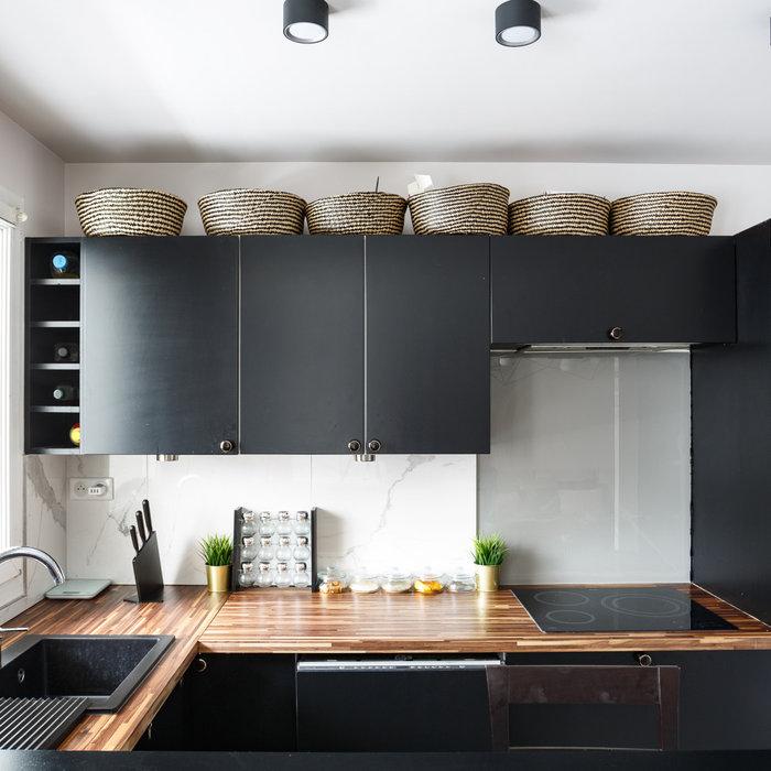 Un appartement frais et lumineux à Courbevoie