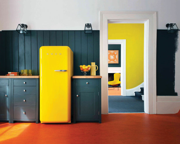 Midcentury Kitchen by SMEG FRANCE