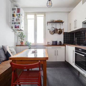 Rénovation complète 38 m2 - Adapter un appartement pour la vie à 2