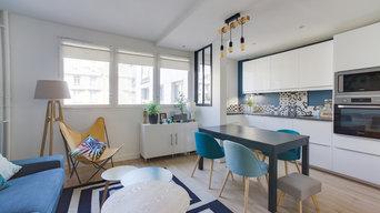 Rénovation complète d'un appartement figé dans les années 70