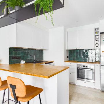 Rénovation complète d'un appartement situé dans le quartier de Lyon Tête D'Or