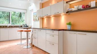 Rénovation complète d'une maison, lumineuse et colorée