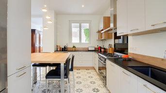 Rénovation complète et surélévation de maison à Dijon