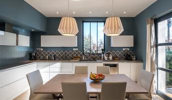 Rénovation cuisine contemporaine et douce