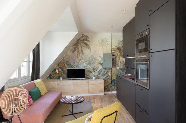 Exotique Cuisine by Lagom architectes