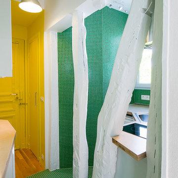 Rénovation d'appartement à Paris 18e-2