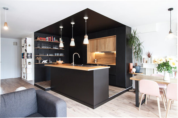 Contemporain Cuisine by Bän Architecture